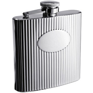 Visol The Regal Stainless Steel Liquor Flask - 6 ounces