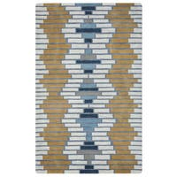 Arden Loft Hand-tufted Ivory Brick Lane Lewis Manor Collection Wool Area Rug (2'6 x 8') - 2'6 x 8'