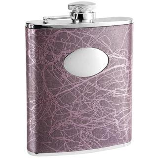 Visol Lightning Purple Liquor Flask - 6 ounces