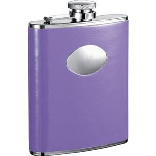 Visol Orchid Purple Liquor Flask - 6 ounces