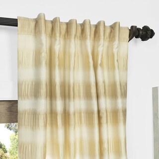 Beige, Faux Silk Curtains & Drapes - Shop The Best Deals For Apr 2017