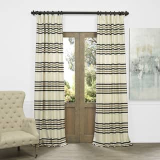 OVERSTOCK EXCLUSIVE Madison Faux Silk Jacquard Curtain https://ak1.ostkcdn.com/images/products/10587302/P17661884.jpg?impolicy=medium