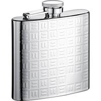 Visol Domino Pattern Stainless Steel Liquor Flask - 6 ounces