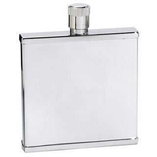 Visol Petit Slim Stainless Steel Liquor Flask - 2 ounces