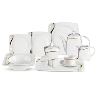 Lorren Home Trend Dora 57-Piece Bone China Dinnerware Set (Service for 8)|https://ak1.ostkcdn.com/images/products/10587339/P17661895.jpg?impolicy=medium