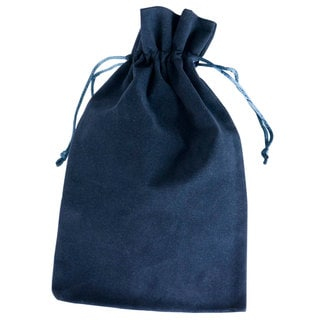 Visol Navy Blue Velvet Bag for Flask