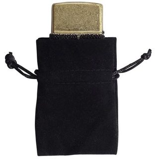 Visol Black Velvet Pouch - 2.5 long x 2.25 wide - For money clips and cufflinks