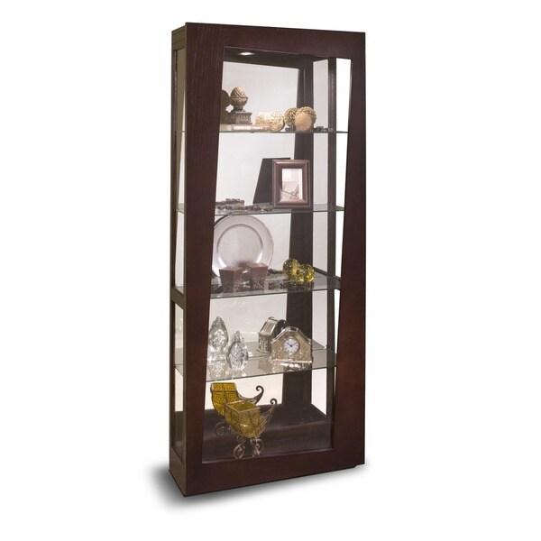 Shop Philip Reinisch Co Halo Lynx Curio Cabinet Free
