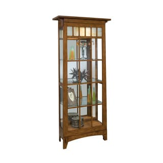 Philip Reinisch Co. Lighthouse Roycroft Curio Cabinet