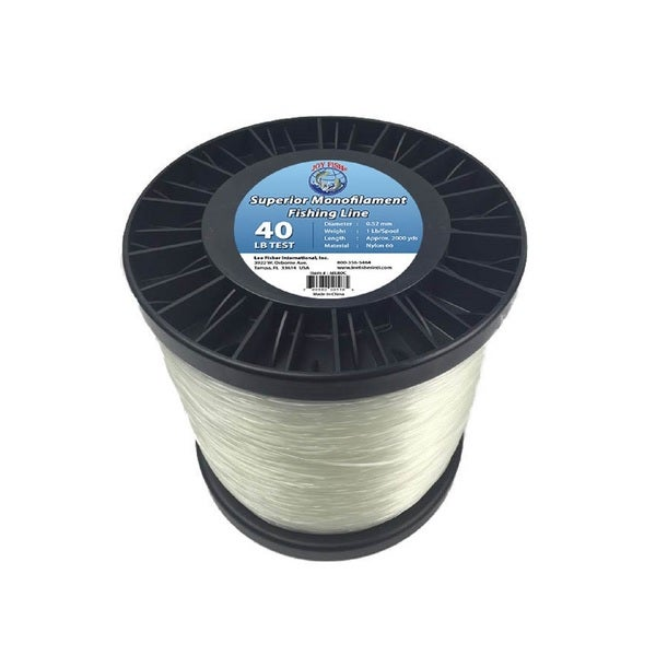 Joy Fish 5 Lb Spool Monofilament 40-pound Test Fishing Line