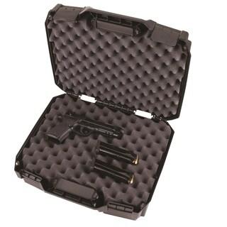 Flambeau Tactical Series Double Deep Pistol Case Black