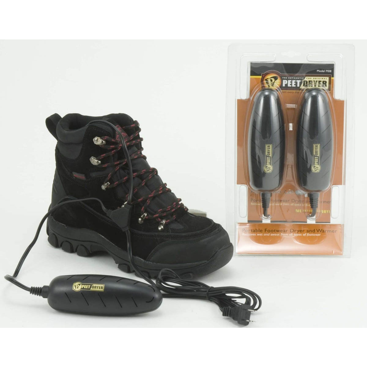 PEET Shoe Dryer Power Cell Dryer for Low Cut Shoes (Black)