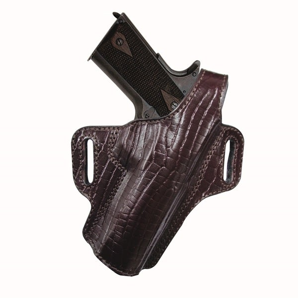 Tagua Premium Thumb Break Burgundy Belt Holster Glock 17