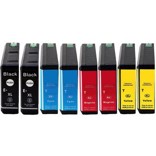 Replacing 8-Pack 786 786XL Ink Cartridge for Epson WF-4630 WF-4640 WF-5110 WF-5190 WF-5620 WF-5690 Series Printer