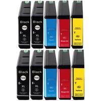 Replacing 10-Pack 786 786XL Ink Cartridge for Epson WF-4630 WF-4640 WF-5110 WF-5190 WF-5620 WF-5690 Series Printer