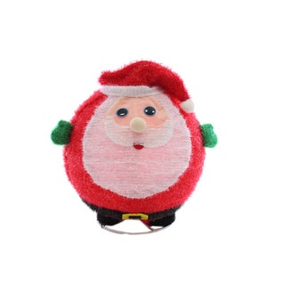 Pre-lit 3D Chubby Santa