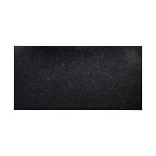 Fasade Nettle Black Wall Panel (4' x 8')