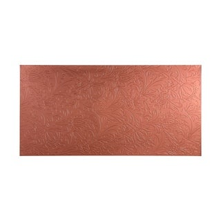 Fasade Nettle Argent Copper Wall Panel (4' x 8')