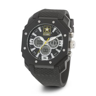 Wrist Armor Men's 37200013 Black U.S. Army C28 Watch