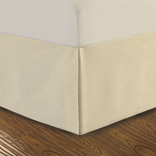 DreamSpace Diamond Matelasse Tailored 14-inch Bedskirt