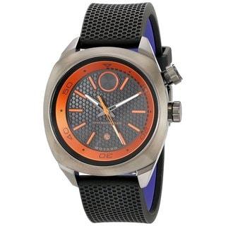 Movado Men's 3600212 Bold Round Black Silicone Strap Watch