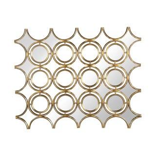 Aurelle Home Sara Geometric Wall Mirror