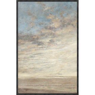 Aurelle Home 'In the Clouds' Canvas Wall Art