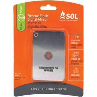 Adventure Medical SOL Series Rescue Flash Mirror