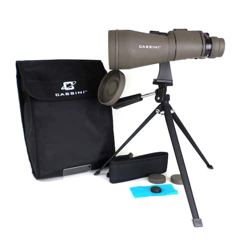 10-30 x 60mm Zoom Binocular - Charcoal