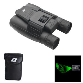 12 x 32mm Day/ Night Green Laser Roof Prism Binocular