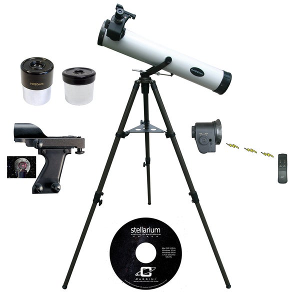 800mm x 80mm Astronomical Reflector Telescope + Elctronic Focus HandBox Kit