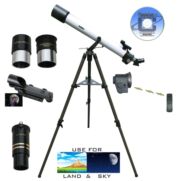 800mm x 72mm Electronic Focus Astronomical/ Terrestrial Telescope