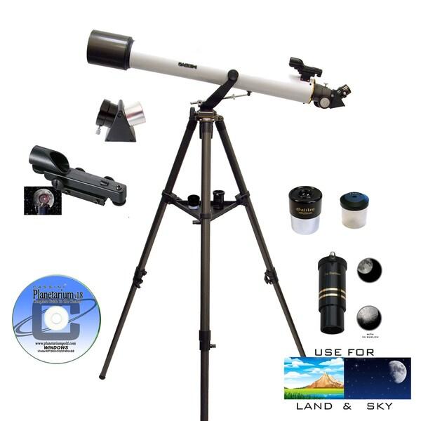 800mm x 72mm Astronomical/ Terrestrial 7-piece Telescope Kit