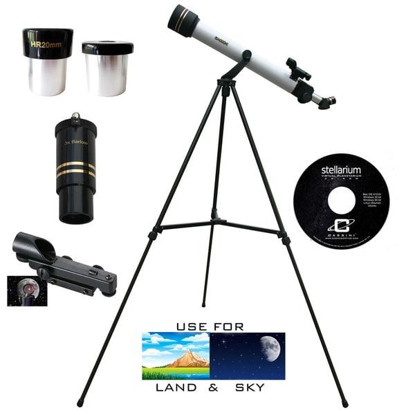 600mm x 50mm Astro/ Terrestrial Telescope Kit