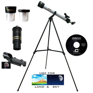 600mm x 50mm Astro/ Terrestrial Telescope Kit
