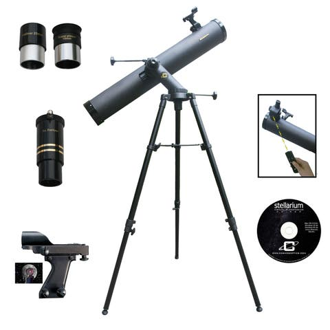 1000mm x 120mm Tracker Reflector Telescope Kit with Electronic Focus