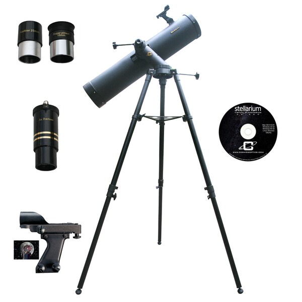 900mm x 135mm TRACKER Reflector Telescope Kit
