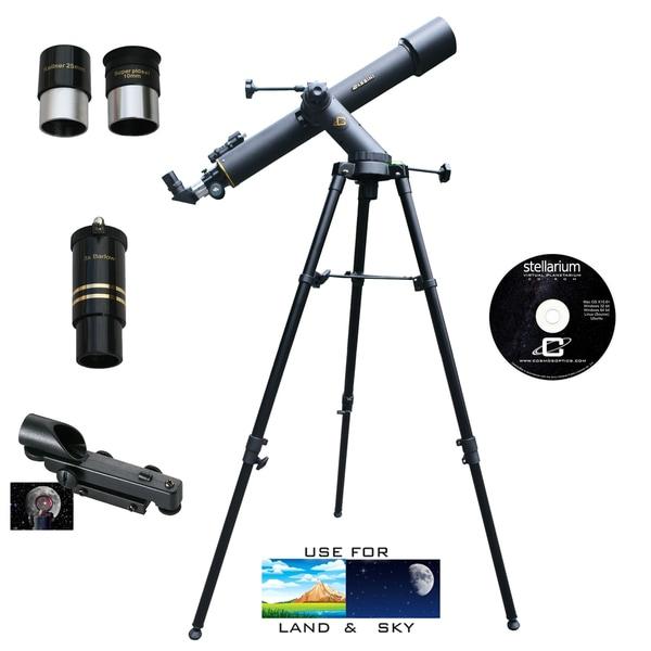 800mm x 72mm TRACKER Refractor Telescope Kit