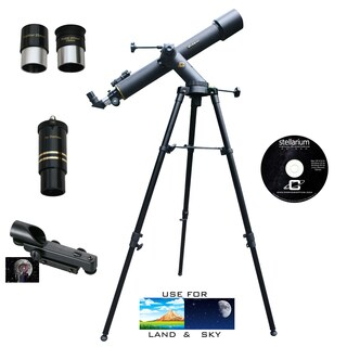 800mm x 72mm TRACKER Refractor Telescope Kit