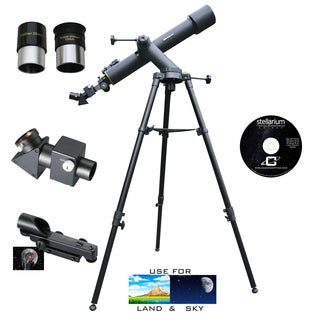 720mm x 80mm TRACKER Refractor Telescope Kit