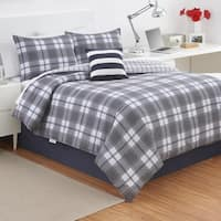 Izod Fairfax Plaid Comforter Set