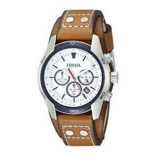 Fossil Men's CH2986 'Coachman' Chronograph Brown Leather Watch