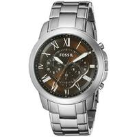 Fossil Men's  'Grant' Chronograph Stainless Steel Watch
