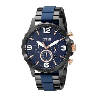 Fossil Men's JR1494 'Nate' Chronograph Two-Tone Stainless Steel Watch