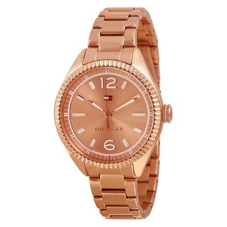 Tommy Hilfiger Women's 1781521 'Chrissy' Rose-Tone Stainless Steel Watch