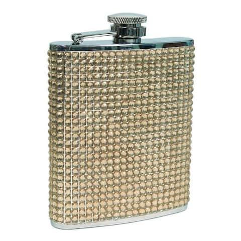 Visol Verve Champagne Silistone Liquor Flask - 8 ounces
