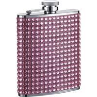Visol Kylie Pink Bling Liquor Flask - 6 ounces