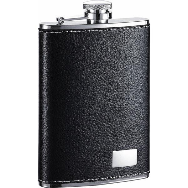 Visol Max Black Liquor Flask - 8 ounces