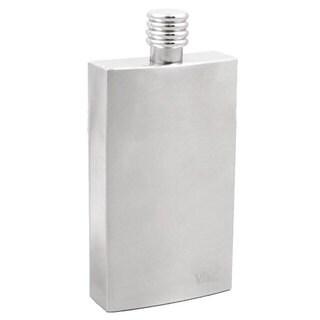 Visol Cosmopolitan Satin Stainless Steel Liquor Flask - 4 ounces