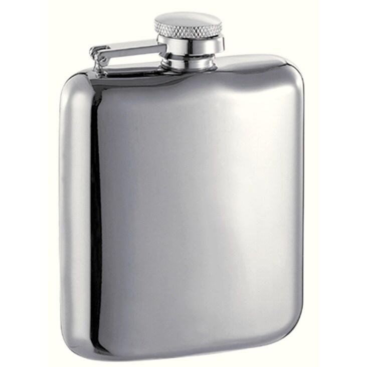 Visol Providence High Polish Stainless Steel Liquor Flask...
